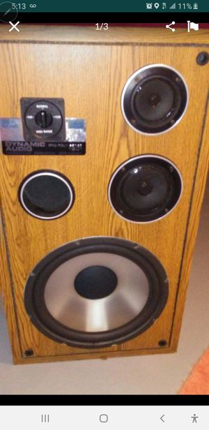 Dynamic audio pro poly series 1901 three way speakers for Sale in Pennsauken Township, NJ