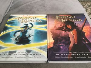 The legend of Korra Book 2 and 3 The art of the animated series for Sale in VA, US