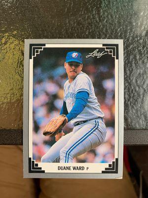 1991 Leaf Duane Ward #154 for Sale in Mansfield, PA
