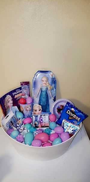 Frozen Easter Basket for Sale in Las Vegas, NV