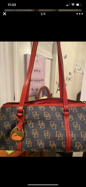 Dooney and bourke denim purse DEAL BEFORE THURSDAY for Sale in Gardena, CA