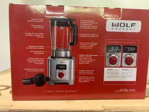 Wolf Blender new in box. Best you can buy save $$$ for Sale in Mill Creek, WA