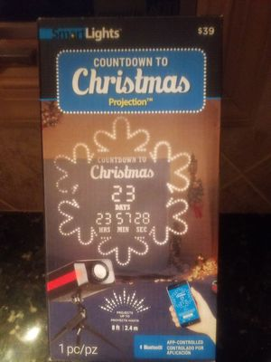 Countdown to Christmas Projection for Sale in Franklin, NJ