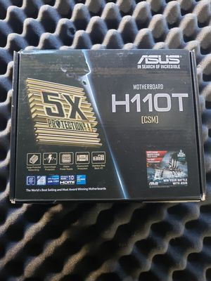 Asus H110T csm Motherboard itx for Sale in Los Angeles, CA