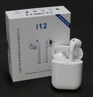 i12 Tws wireless earbuds bluetooth earphones for Sale in Daly City, CA