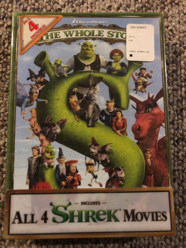 All 4 Shrek Movies DVD