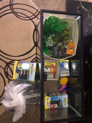 Fish Tank Stuff for Sale in Charlotte, NC