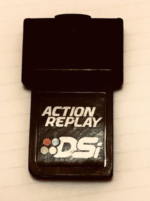 ACTION REPLAY DSI FOR NINTENDO DS GAME SYSTEM- TESTED WORKS GREAT!! for Sale in Decatur, AL