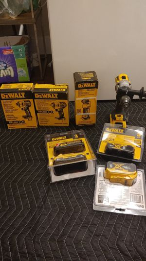 DeWalt XR brushless. (Bare tools). Price firm. See discription for Sale in Indianapolis, IN