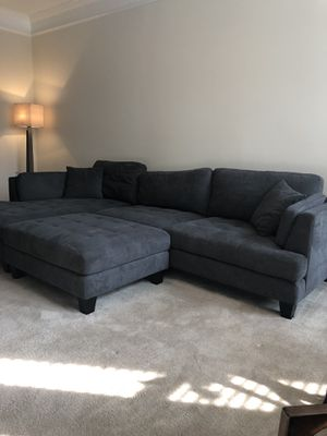 Costco Couch - Sectional for Sale in Charlottesville, VA