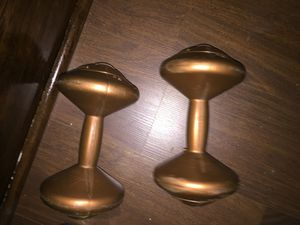 3kg/6.6lbs comfortable dumbbells for Sale in Erie, PA