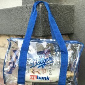 Los Angeles Dodgers Clear Mini Duffle Bag for Sale in Chino, CA