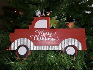 Wooden red truck or camper - $15 for Sale in La Porte, TX