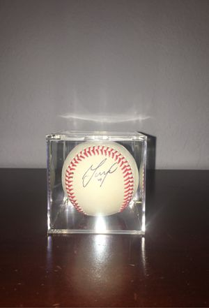 Jose Altuve personally signed baseball with display case. for Sale in Pompano Beach, FL