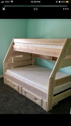 Bunk bed twin over full for Sale in Hanford, CA