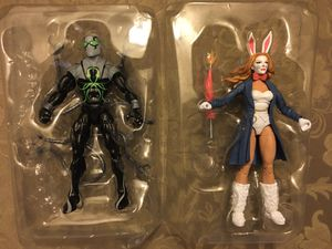 Marvel Legends demogoblin baf lot white rabbit & superior octopus for Sale in Wichita, KS