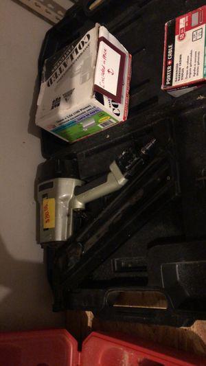 Nail gun with nails for Sale in McDonough, GA