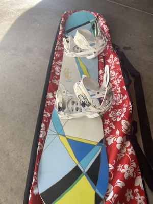 Snowboard, boots,bindings and bag! for Sale in Arvada, CO