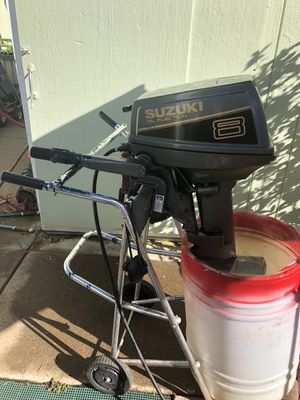 Suzuki 8 Horse Short Shaft Outboard for Sale in Woodburn, OR