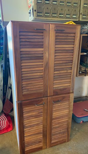 """2-26 1/4"""" sink base cabinets with Koa doors for Sale in Hawi, HI"""