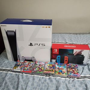 PS5 & Switch combo for Sale in Union City, CA