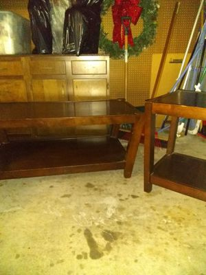 Coffee table and end tables for Sale in Wichita, KS