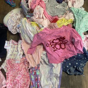 Assortment Of Baby Girls Clothes Size 12 Months for Sale in City of Industry, CA