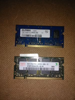 Laptop ram sticks for Sale in Erie, PA