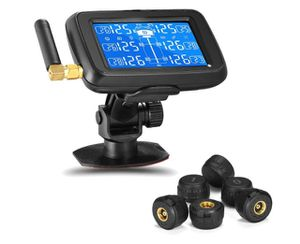Tire Pressure Monitoring System Careud Tire Pressure Sensor TPMS Sensor RV Truck Bus with 6pcs External Sensors Real Time Monitoring Pressure and Tem for Sale in Rancho Cucamonga, CA