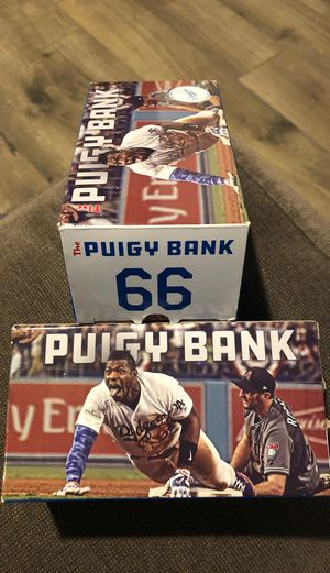 Dodgers Puig Piggy Bank for Sale in Covina, CA