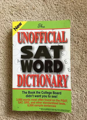 The unofficial SAT word dictionary for Sale in Rockville, MD