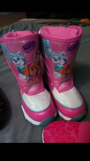 New! Little Girls Size 11/11C Paw Patrol Boots for Sale in Federal Way, WA