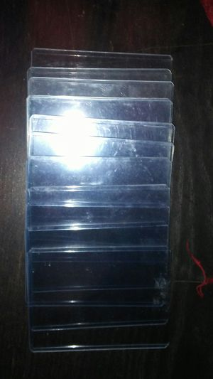12 Ultra pro plastic card top loader for Sale in Stanton, CA