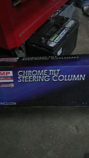 Chrome tilt steering column for Sale in Vista, CA