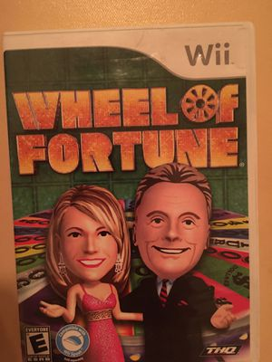 Nintendo Wii wheel of fortune for Sale in Visalia, CA