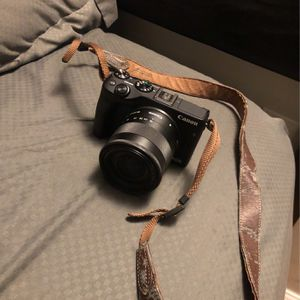 Canon Eos M3 ( With Two Batteries And Charger) for Sale in Capitol Heights, MD