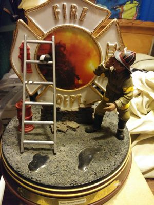Fire fighter Statue collectible for Sale in Grove City, OH