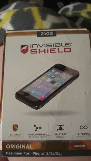 ZAGG INVISIBLE SHIELD for Sale in St. Louis, MO