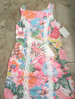 SOLD OUT NWT Women's Lilly Pulitzer Nosey Posie Dress MED 8 for Sale in Orland Park, IL
