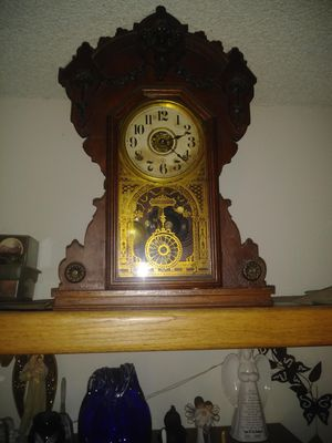 Antique 1868 Seth Thomas mantel clock for Sale in Portland, OR