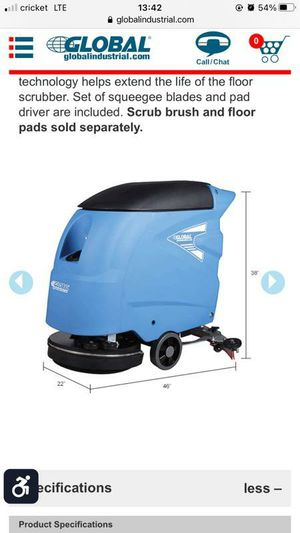 FLOOR SCRUBBER / CLEANER for Sale in Hermitage, TN