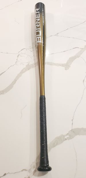 Adidas AeroBurner (ABA -3) Baseball Bat Alloy BBCOR Metal Gold /Black Beisbol, Bate, for Sale in Alafaya, FL