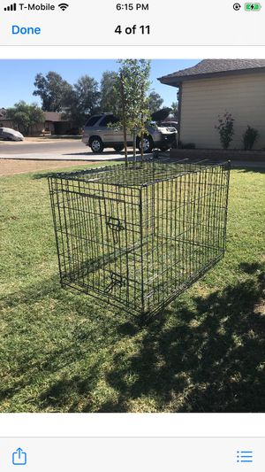 Dog cage 36L x 24W x 27H for Sale in Phoenix, AZ