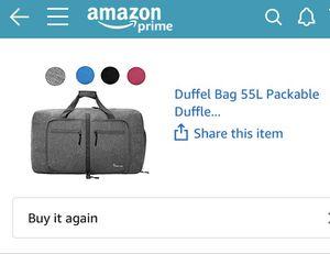 Dimayar Waterproof Duffle Bag 60L Travel Duffle Bag for Sale in Spring Valley, CA