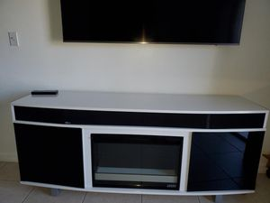 Fireplace w/ speakers TV Stand for Sale in Miami Lakes, FL