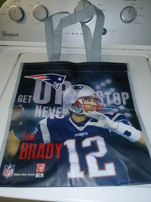 Red sox and Patriots tote groceries bag for Sale in West Somerville, MA