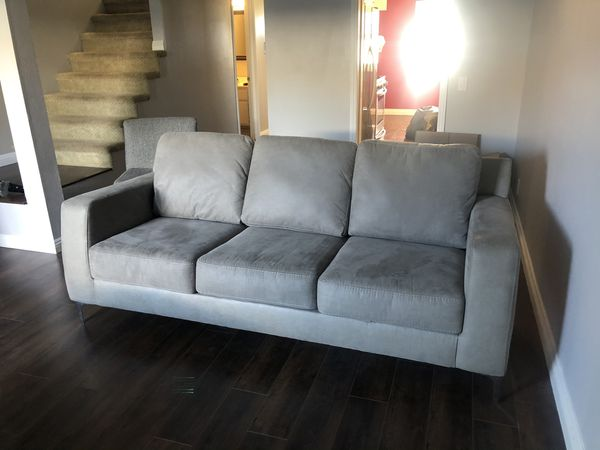 Grey Couch And Chair