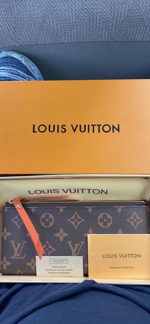Louis Vuitton Coquelicot Monogram Canvas Adele Wallet for Sale in Manassas, VA