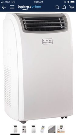 Black + Decker 12000 BTU Portable Air Conditioner Unit for Sale in Columbia,  SC