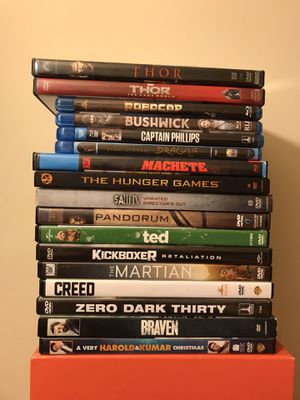 Blu Ray DVD Movies First Pic Movies $2 Each Second Pic Movies $5 Each Clean Discs Jackass $10 for Sale in Reedley, CA